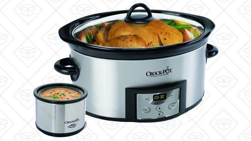 Olla de cocción lenta Crock-Pot 6 cuartos, $34