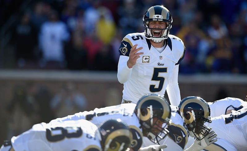 Illustration for article titled Unhappy Nick Foles Is Skipping Rams OTAs