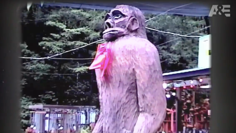 Not Bigfoot...or maybe Bigfoot? / Image via Youtube