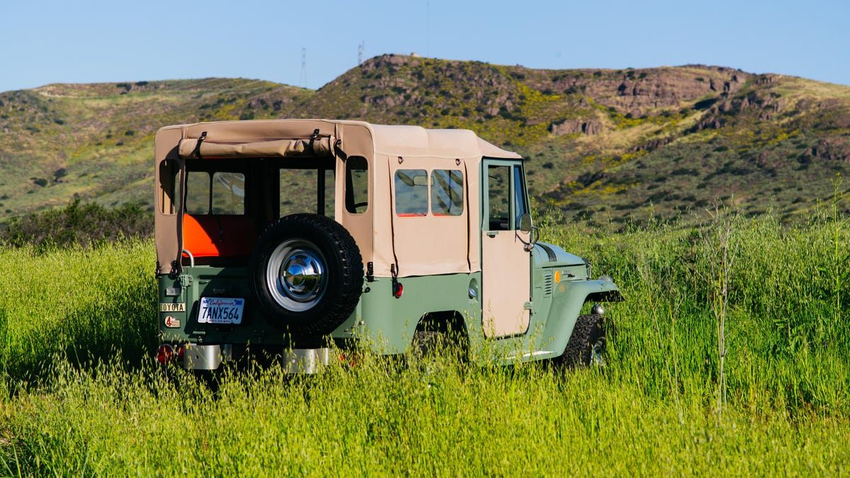 This Is Why Everyone Wants An Fj40 Toyota Land Cruiser 1973 Original