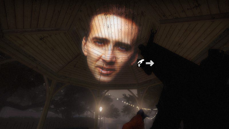 Illustration for article titled This Nicolas Cage Flashlight Will Keep You Safe In Left 4 Dead 2