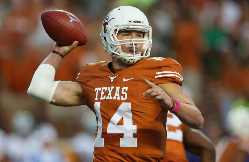 Illustration for article titled Texas QB David Ash Gives Up Football Due To Concussions