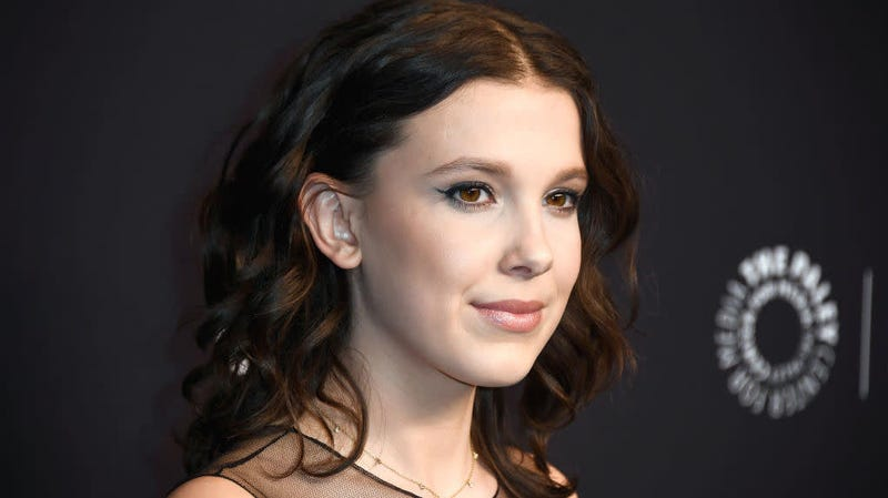 Millie Bobby Brown, a Child, Is Sorry for Pretending to Wash Her Face
