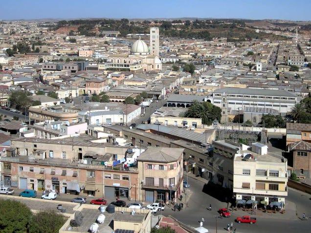 asmara eritrea unique architecture with italian modernism and