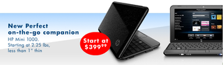 Illustration for article titled New 10-Inch HP Mini 1000 Netbook Shows Up Online