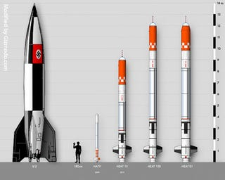 Illustration for article titled The World's Largest Amateur Rocket Is Almost as Tall as a V-2