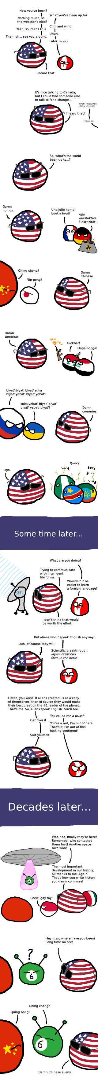 Illustration for article titled Aliens Speak English
