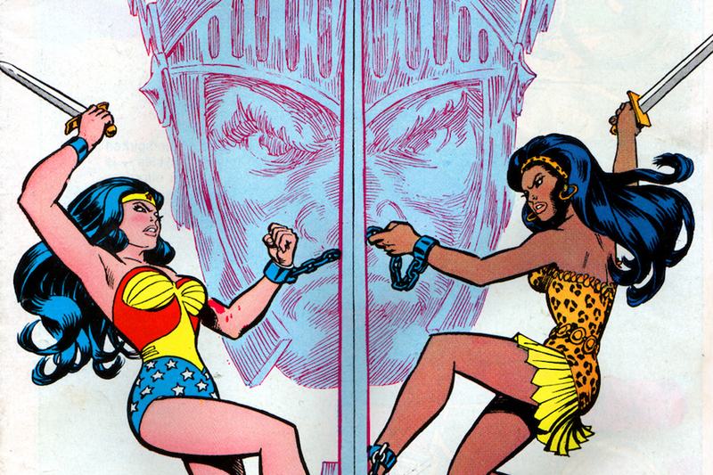 Illustration for article titled Wonder Woman's Long-Lost Sister Just Reappeared in the Most Unexpected Place
