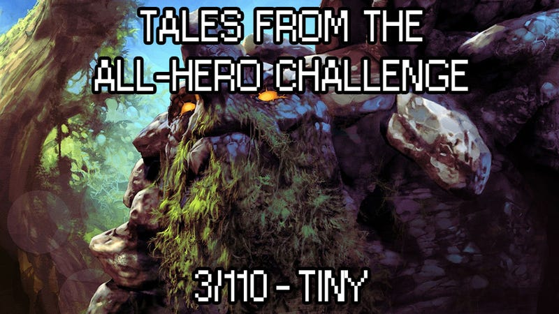 Illustration for article titled Tales from the All-Hero Challenge: Tiny (3/110)