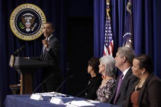 Illustration for article titled White House Focuses on Black Concerns