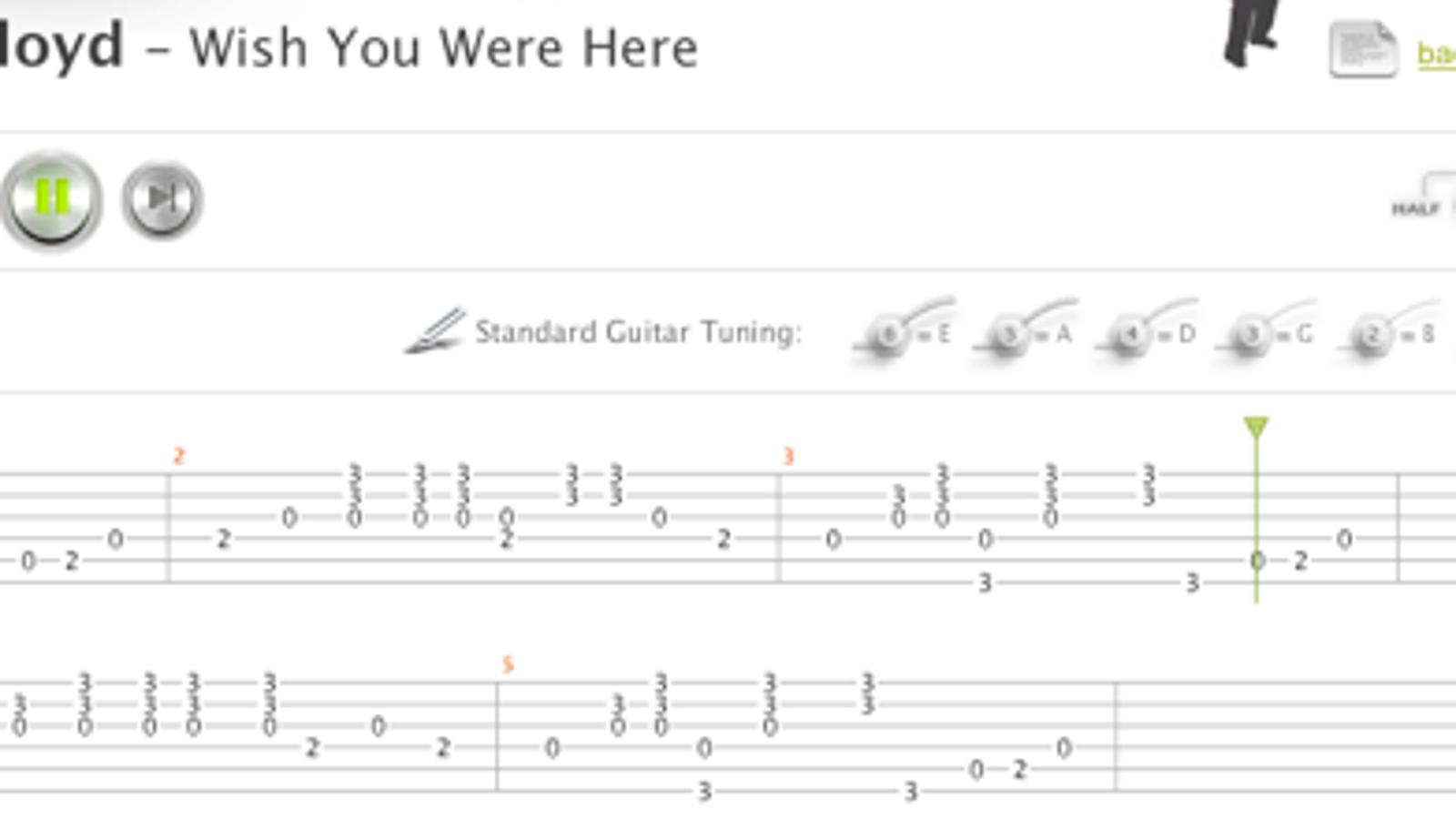 Songsterr Brings Rhythm to Guitar Tabs