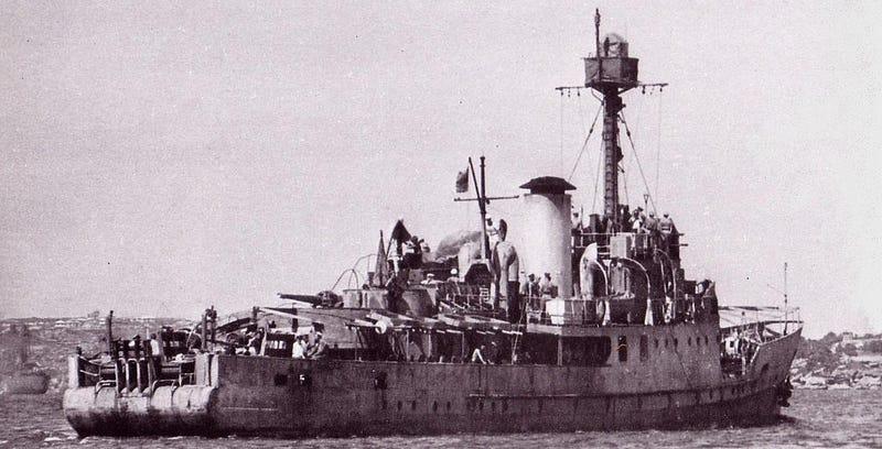 El barco que eludió la Segunda Guerra Mundial disfrazándose de isla
