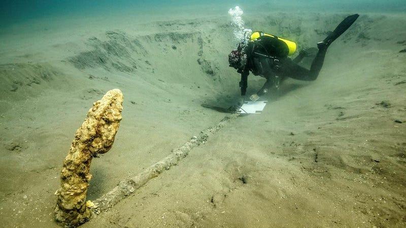 Encuentran un ancla del siglo XV donde el conquistador Hernán Cortés hundió sus barcos