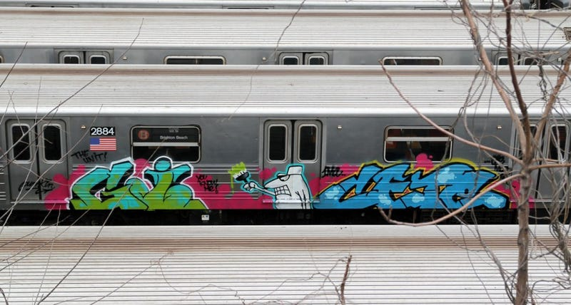 Illustration for article titled A Rare Look at the Graffiti-Covered History of NYC's Subway