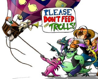 Illustration for article titled Don't feed the trolls, play CAH instead!