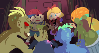 Illustration for article titled This Animated Earthbound Tribute Is Just Incredible