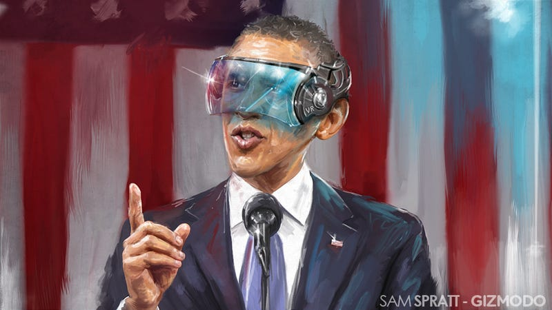 Illustration for article titled This Is Obama's State of the Future