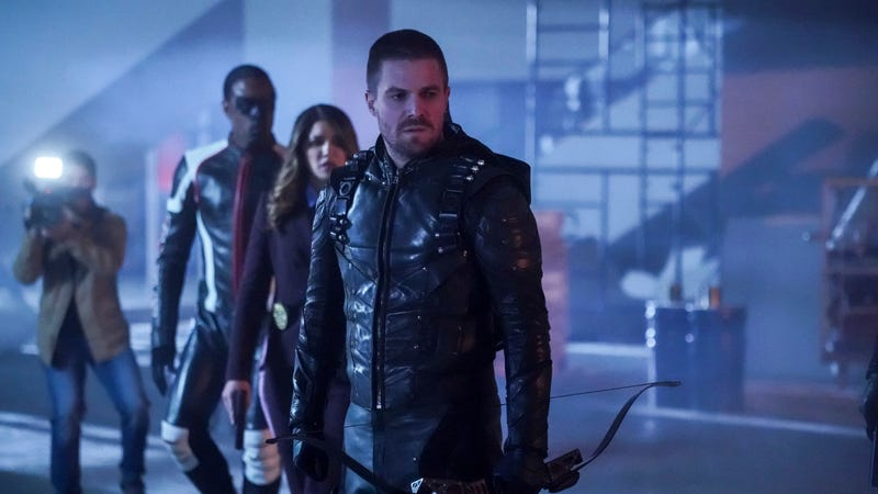 "Recap: ARROW S7 E12 – ""Emerald Archer"""