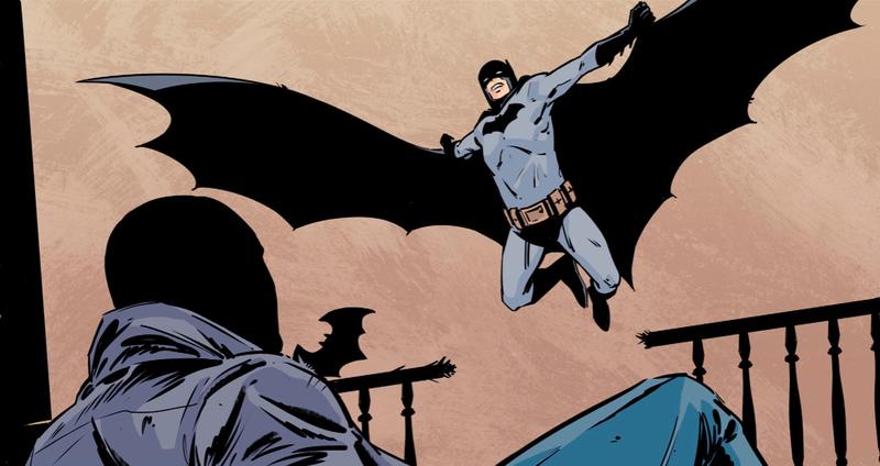Batman doing his thing.
