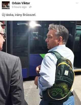 Illustration for article titled Becsületes drogkereskedő kommentelt Orbán facebookján