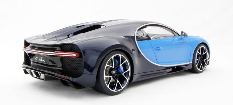buy this 1:8 scale model of the bugatti chiron for $10,000 if you