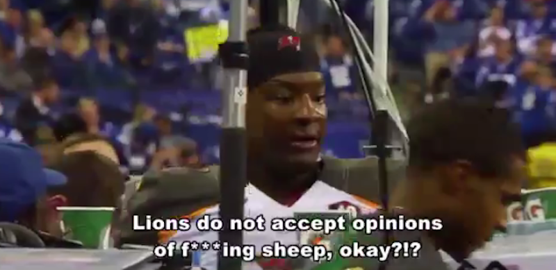 Illustration for article titled Jameis Winston Mad About Sheep