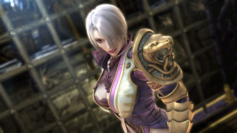Illustration for article titled Meet Middle-aged Ivy and Soulcalibur V's Two All-New Fighters