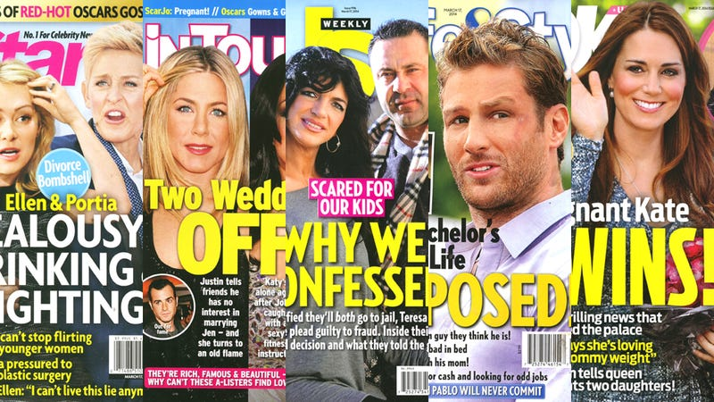 Illustration for article titled This Week in Tabloids: Ellen and Portia to Drop Divorce Bombshell