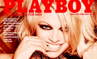 Illustration for article titled Playboy's Last Nude Will (Fittingly) Be Pamela Anderson