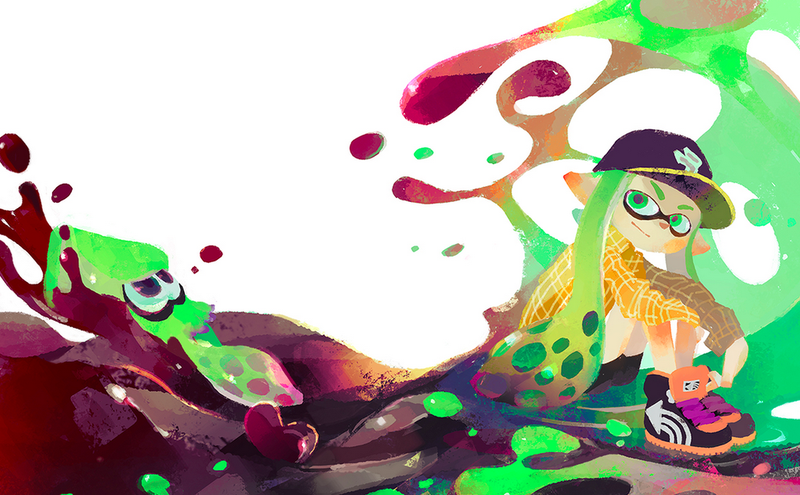 Illustration for article titled The Monday Stream Plays Splatoon, Looks Hella Cute While Doing It [Done!]