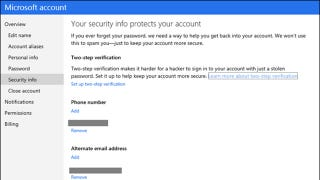 Illustration for article titled Microsoft Gets Two-Factor Authentication, You Should Enable It Now