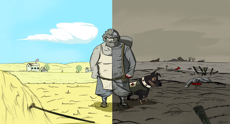Illustration for article titled How 'Valiant Hearts' Slowly Captured Mine