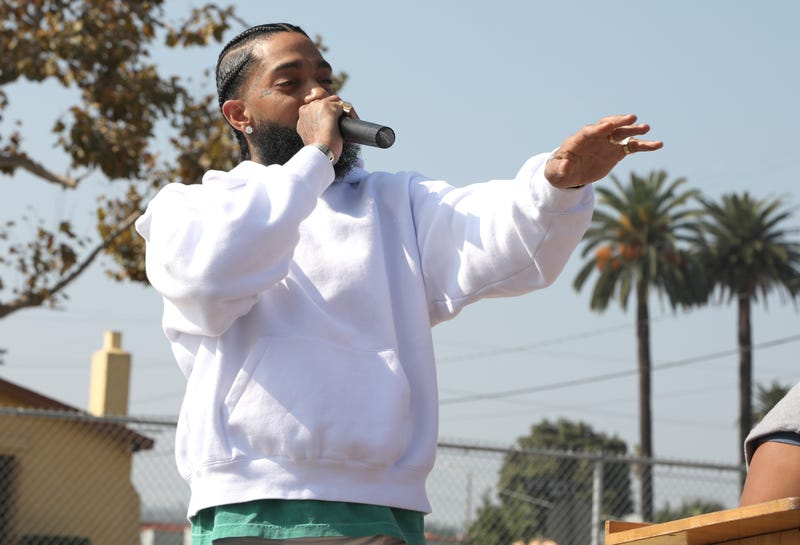 Illustration for article titled Nipsey Hussle to be Honored on House Floor Next Week by Rep. Karen Bass