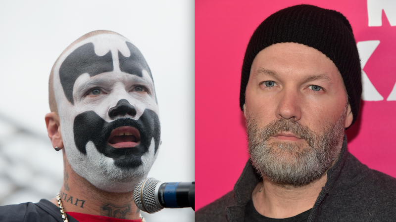 L-R, Shaggy 2 Dope, Fred Durst