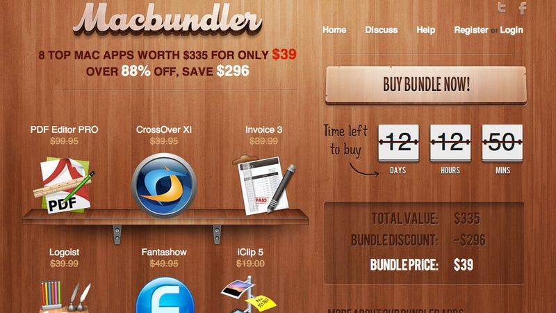 Illustration for article titled Grab $296 Worth of Handy Mac Apps for $39