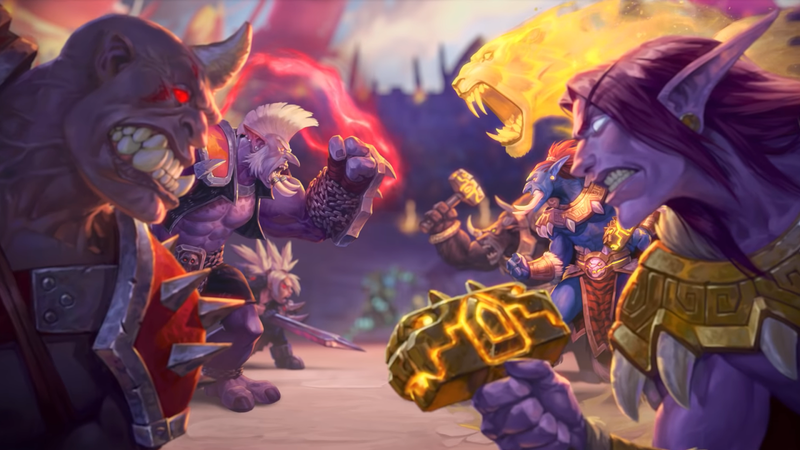Illustration for article titled Blizzard Gives 6-Month Ban To College Team That Held Up 'Free Hong Kong' Sign