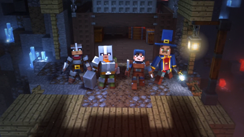 Illustration for article titled Minecraft: Dungeons Is The New Game Set In The Minecraft Universe