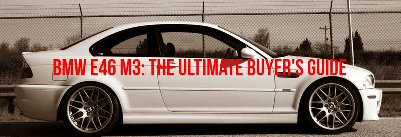 Illustration for article titled The Affordable Supercar: The Ultimate E46 M3 Buyer's Guide