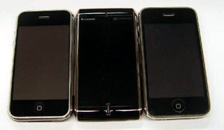 Illustration for article titled Lenovo OPhone Sizes Up Against iPhone, iPhone 3G