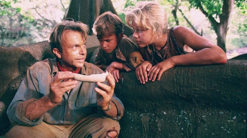 an analysis of the book of jurassic park In page to screen, we compare a movie to the book that spawned it the analysis goes into deep detail about specific plot points—in other words, you've been warned.