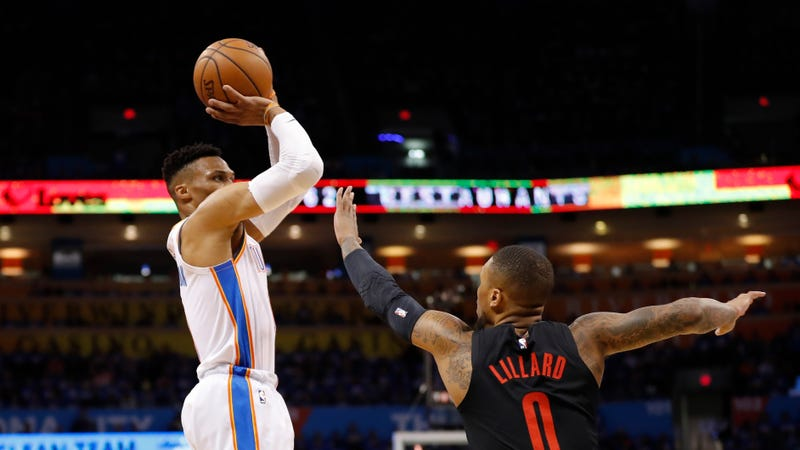 The Blazers Really Want Russell Westbrook To Keep Shooting