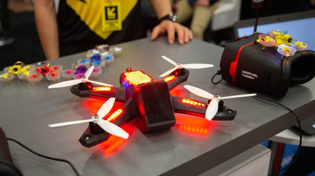 DraftKings Now Allows Betting on Drone Races in Certain States