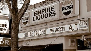 The Empire Liquors grocery store where Latasha Harlins was killed in 1991
