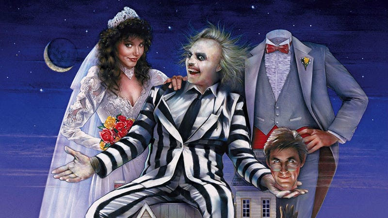 Part of the poster for Beetlejuice.