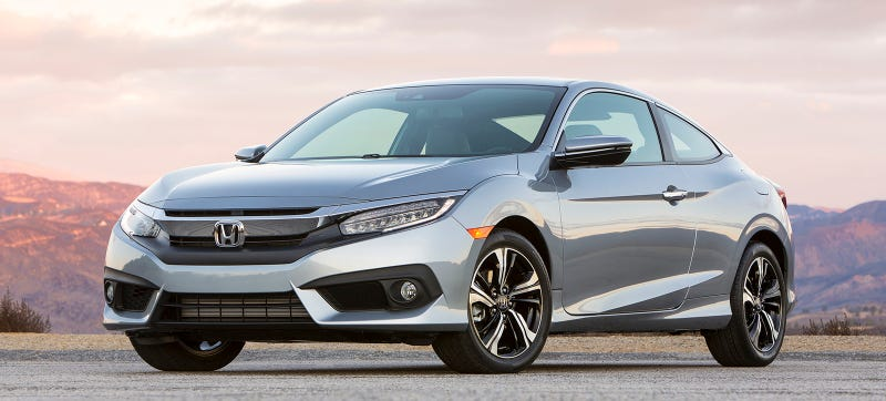 Jorgen's individual Honda Civic is not pictured, but it's is a Honda Civic and it looks the same. Photo: Honda