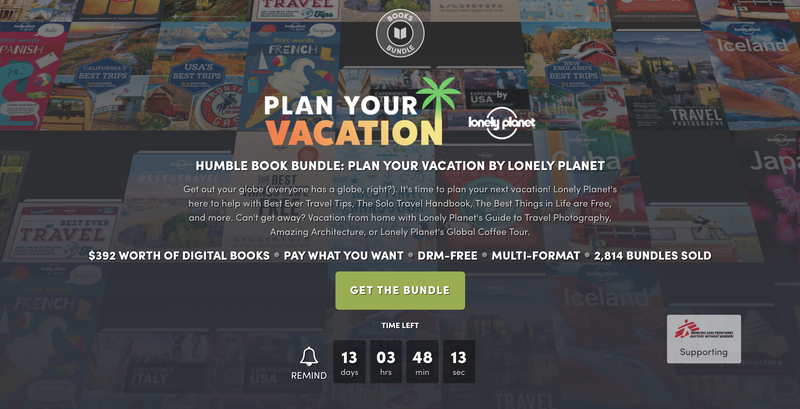Lonely Planet Plan Your Vacation Bundle | Humble