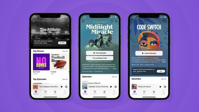 Apple is Finally Launching In-App Podcast Subscriptions