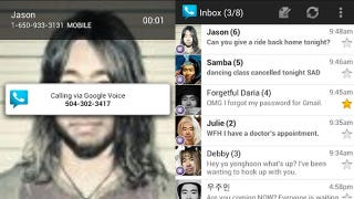 Illustration for article titled Google Voice on Android Is Now Much, Much Prettier