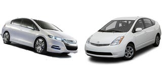 Illustration for article titled Honda Insight Vs. Toyota Prius: Separated At Birth?