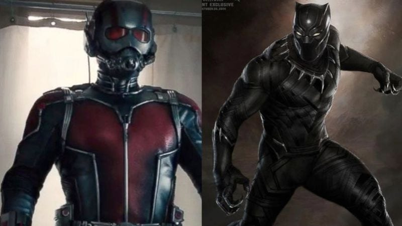Illustration for article titled Ant-Man and Black Panther also join Civil War, because everyone has to